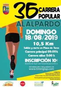 36 Carrera Popular de Alalpardo (Madrid)