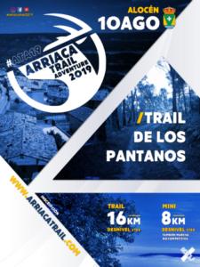 Trail de los Pantanos Alocén, Guadalajara