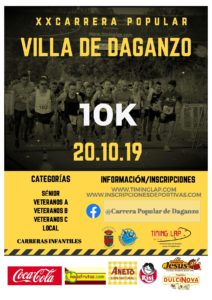 XX Carrera Popular Villa de Daganzo, Madrid