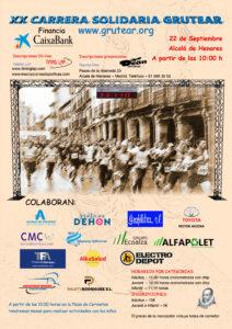 XX Carrera popular solidaria Grutear Alcalá de Henares, Madrid
