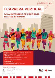 I Carrera Vertical TorreGarena, 145 aniversario Cruz Roja en Alcalá de Henares
