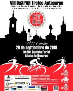 VIII Duatlon Cross Alcalá de Henares, Madrid, Trofeo Autocarpe