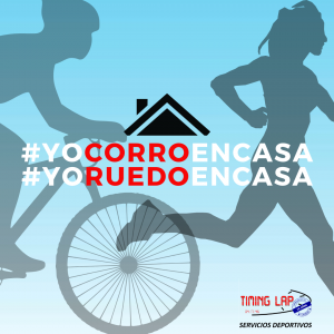Carrera virtual running #yocorroencasa