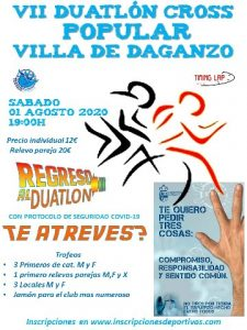VII  Duatlón Cross popular Villa de Daganzo