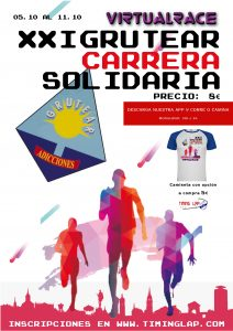 XXI Carrera Popular Virtual 5k 10k GRUTEAR