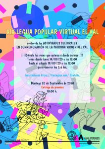 XIX Legua Popular Virtual «El Val»