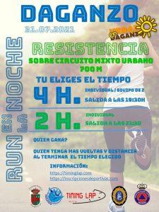 Run en la Noche 4H de Resistencia,  Daganzo Madrid